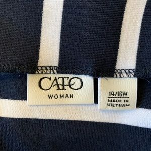 Cato Skirts - Cato Ponte Knit Skirt Size 14/16W